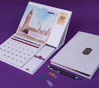 تقویم رومیزی ۹۸ آبرنگ یادداشت دار