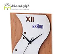 ساعت دیواری چوبی-مدل 5173