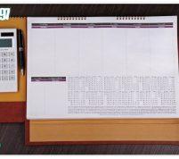 تقویم رومیزی زیردستی مدیریتی ۵۲ برگی