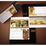 تقویم رومیزی 1397 طرح مشاهیر
